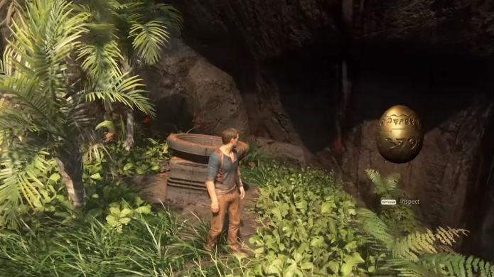 Uncharted 4: o ovo um easter egg de Jak & Dexter (Foto: Reprodução/YouTube)