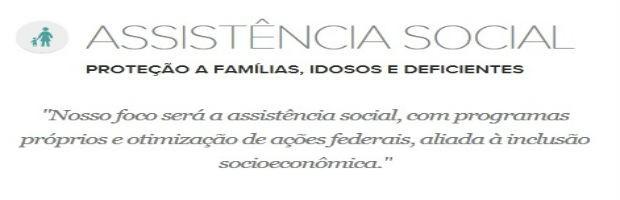 Assistência Social (Foto: Reprodução)