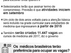 128 cidades do Ceará têm prioridade para receber médicos do governo