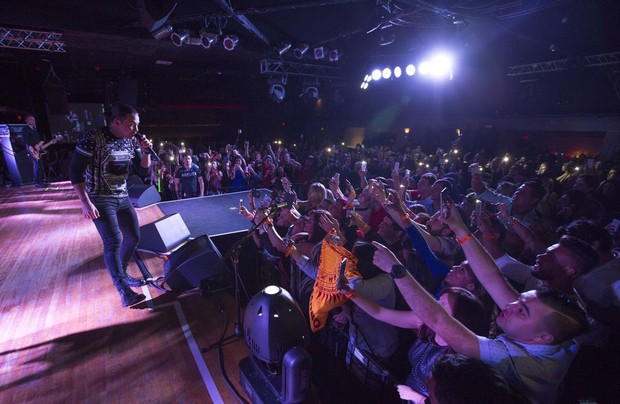 Wesley Safadão em show no Estados Unidos (Foto: Divulgação)