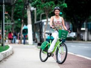 O 'Bike Vitóra' é o primeiro projeto de compartilhamento de bicicletas do estado (Foto: Diego Alves/ PMV)