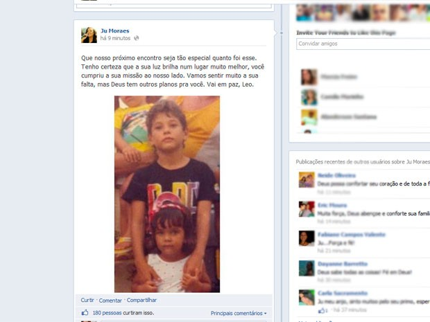 Baleado por policial civil durante briga de bar morre em Salvador (Foto: Reprodução/ Facebook)