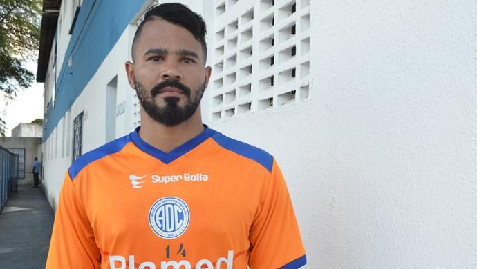 Rafael Mineiro; confiança (Foto: Osmar Rios)