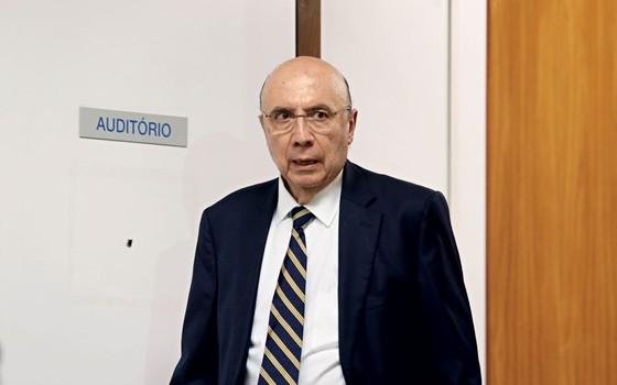 Henrique Meirelles ministro da Fazenda   (Foto: ANDRÉ DUSEK/ESTADÃO CONTEÚDO)