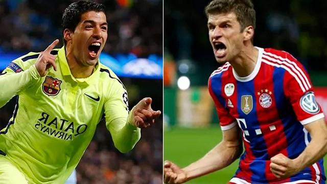 Barcelona x Bayer Munich (Foto: Reprodução/Rede Globo)