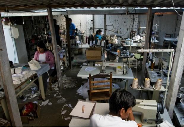 Trabalho escravo (Foto: Divulgação/MPT)
