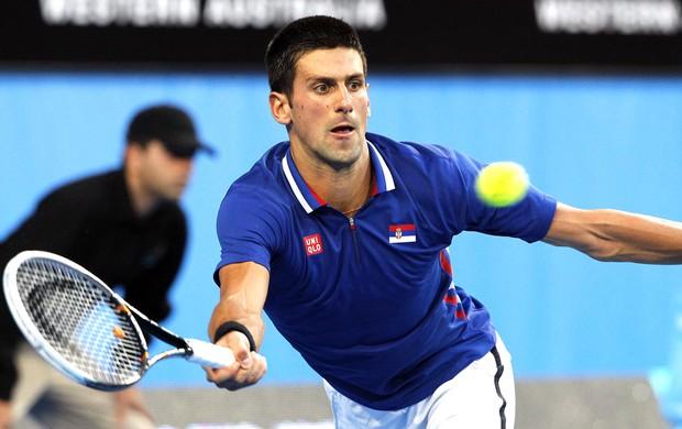 Tênis, Djokovic, copa Hopman (Foto: Agência Reuters)