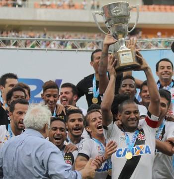 Vasco campeão (Foto: Carlos Gregório Jr-Vasco.com.br.)