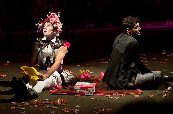 Leandro Castilho e George Sauma em 'A Importância de ser Perfeito' (Foto: Divulgação)