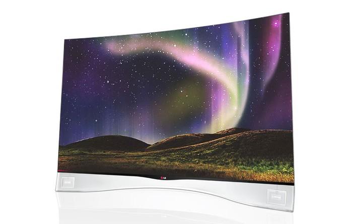 TV OLED curvada da LG; 55EA9800 (Foto: Divulgação/LG)