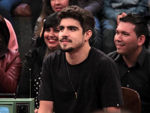 Caio Castro participa do programa Altas Horas deste sábado (Foto: TV Globo/Altas Horas)