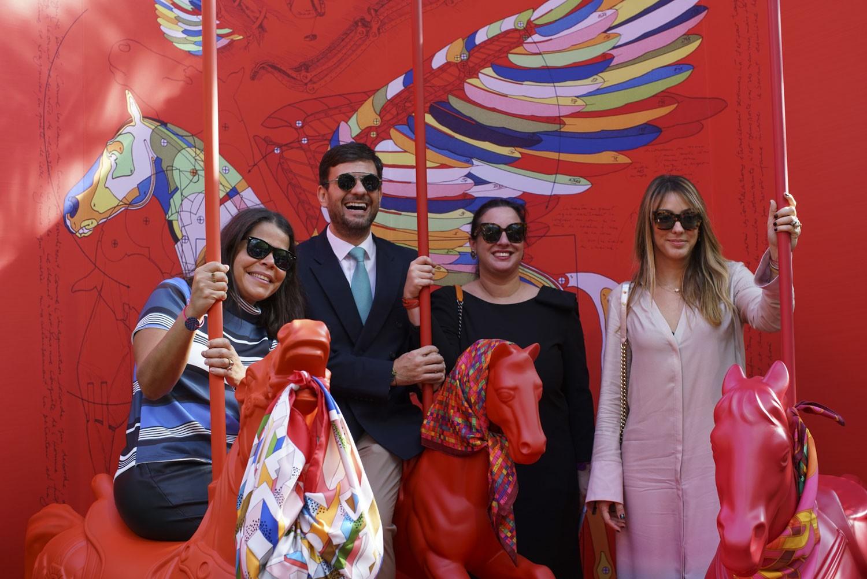 Daniela Falcão, Bruno Astuto, Silvia Rogar e Camila Garcia  (Foto: Divulgação)