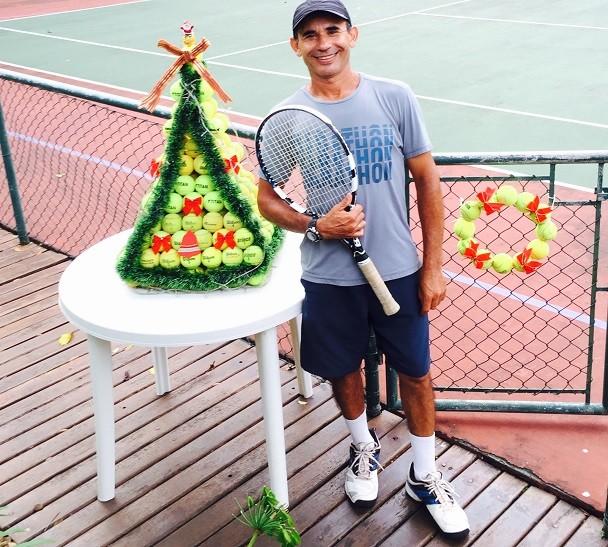 Árvore de bolinha de tênis (Foto: Armando Simoes Furlaneto)