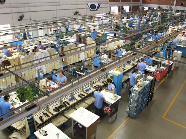 Indústria calçadista registrou queda da produção no primeiro quadrimestre   (Foto: Divulgação)