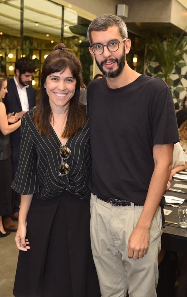Luciana Rosas, gerente de marketing da Reserva e  Igor de Barros, gerente criativo da Reserva (Foto: Fábio Cordeiro/ Ed. Globo)