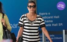 Look do dia: Mariana Rios usa vestido como saia e arrasa