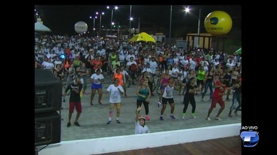 Em Santarém, mais de 2 mil ciclistas participam do Pedalando nas Férias 2017