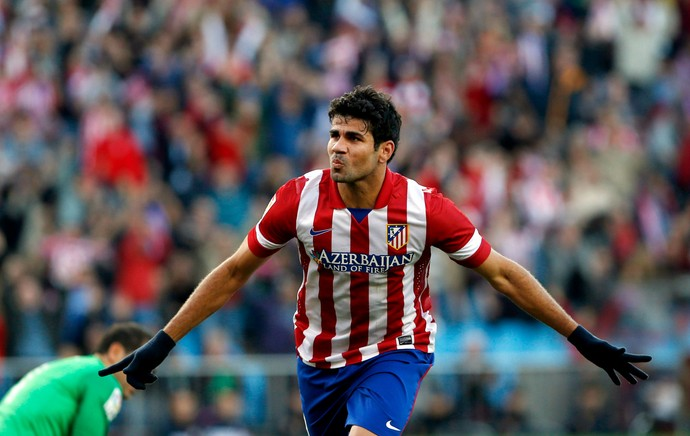Diego Costa Atlético de Madrid (Foto: Reuters)