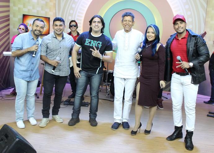 'Paneiro' retorna à TV ao som de compositores do Norte  (Foto: Katiúscia Monteiro/ Rede Amazônica)