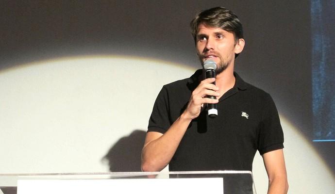 Paulo André Corithians evento (Foto: Gustavo Serbonchini)