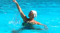 Atleta Lorena Molinos é apaixonada pela água e pelas piscinas