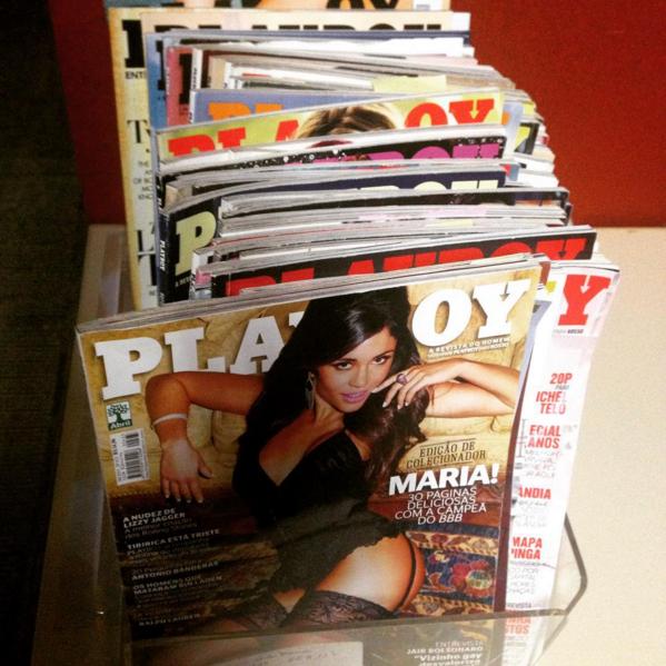 Playboy deixou de circular em dezembro, após a Editora Abril decidir deixar de publicar a revista.  (Foto: Reprodução/Playboy Brasil/Twitter)