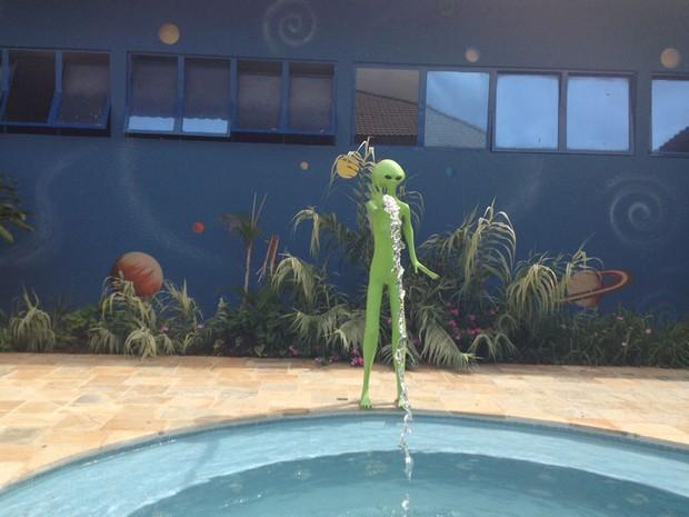 ET, Alto Paraíso de Goiás (Foto: Elisângela Nascimento/G1)