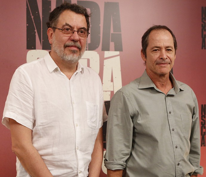 Jorge Furtado e Guel Arraes, autores de 'Nada Será Como Antes' (Foto: Ellen Soares/Gshow)