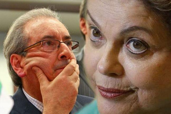 Eduardo Cunha e Dilma Rousseff (Foto: Arquivo Google)