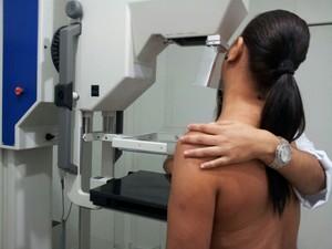 Exames de mamografia serão realizados até domingo  (Foto: Giliardy Freitas/ TV TEM)