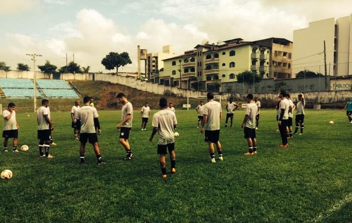Uberlândia Esporte, treino, Ipatinga (Foto: Márcio Malamud)