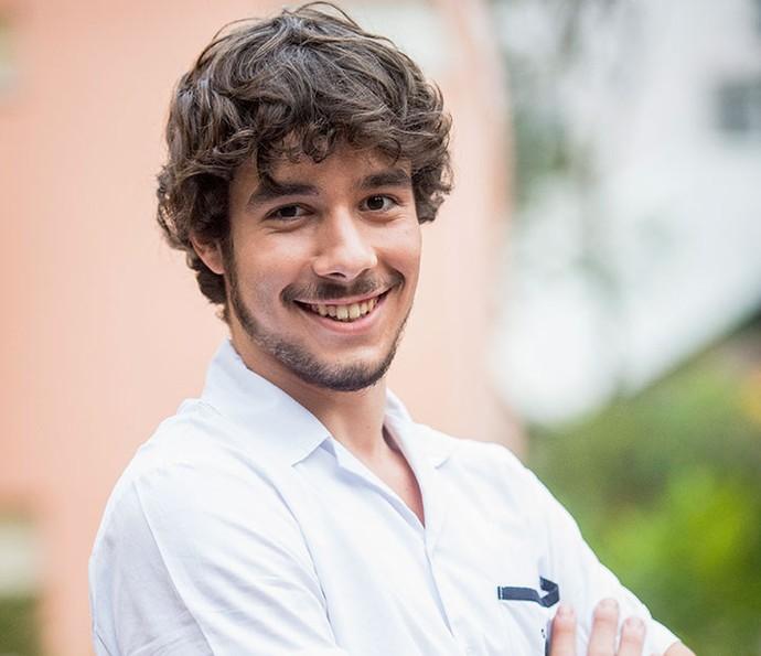 Vitor Novello assume curtir as 'duas faces' de Luan (Foto: João Cotta/TV Globo)