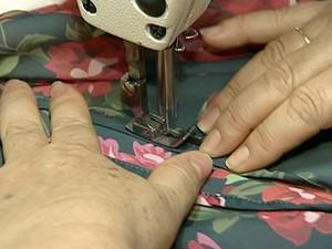 Costureiras de Linhares, ES, viram microempreendedoras (Foto: Reprodução/ TV Gazeta)