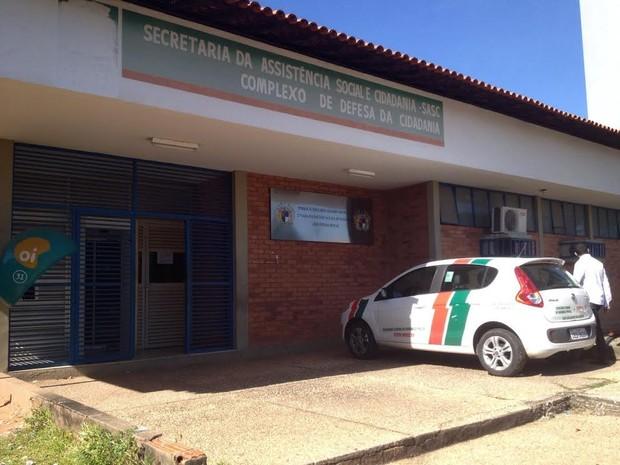 Delegacia do Menor Infrator em Teresina (Foto: Gilcilene Araújo/G1)
