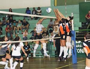 Santos sub-19 de vôlei feminino vence São Bernardo (Foto: Divulgação / Zerri Torquato)