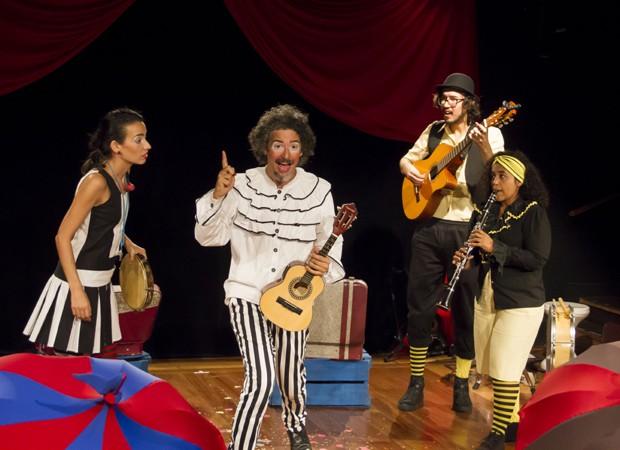Toda a família vai se divertir e se emocionar com a história do palhaço (Foto: Gabriel Madrid)