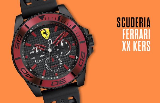 Relógio Ferrari (Foto: Autoesporte)