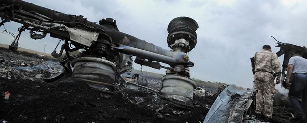 Avião com 295 a bordo cai na Ucrânia (Dominique Faget/AFP)