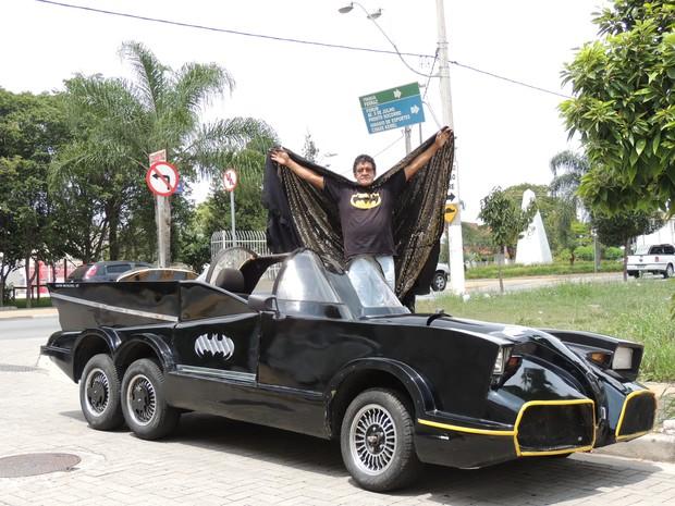 Batmóvel (Foto: Pedro Carlos Leite/G1)