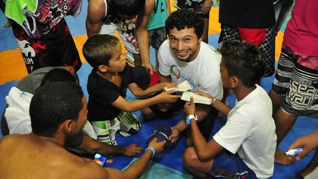 Adriano Martins, UFC (Foto: Antônio Lima/Semdej)