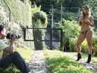 'Sexo comigo não dura menos de uma hora', diz Eliana Amaral no Paparazzo