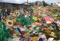 No Amapá, 10 toneladas de fantasias foram retiradas do Sambódromo