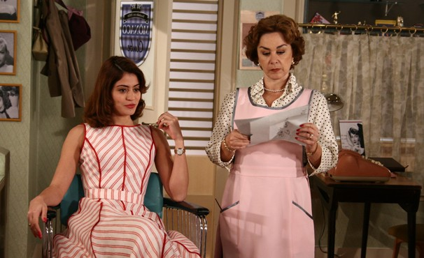 Na trama, Ruth era a queridinha de Lia (Foto: TV Globo / Willian Andrade)