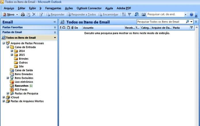 Outlook é mais indicado para uso corporativo (Foto: Reprodução / Laura Martins)