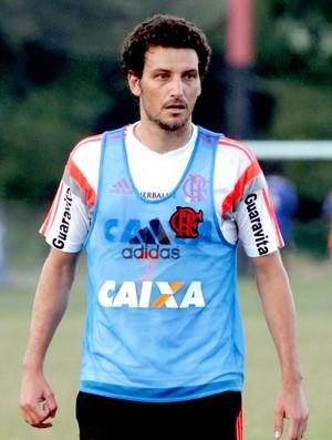 Elano no treino do Flamengo (Foto: Cezar Loureiro / Agência O Globo)