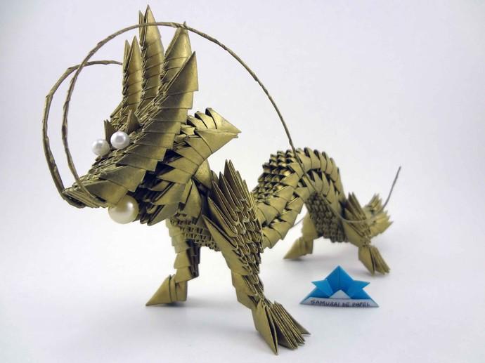 Maurício Matsuda, de Sorocaba, faz arte com o origami (Foto: Arquivo Pessoal / Mauricio Matsuda)