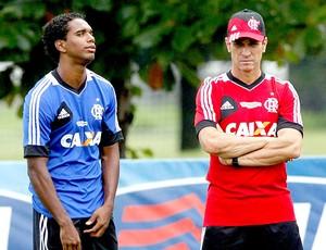 Jorginho treino Flamengo (Foto: Cezar Loureiro / Agência O Globo)