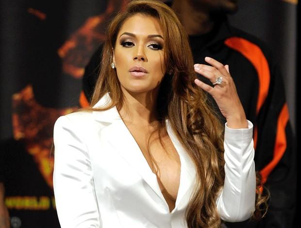 "Shantel Jackson namorada do boxeador Floyd ""Money"" Mayweather Jr (Foto: Getty Images)"