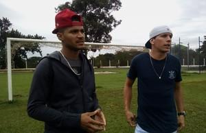 Paulo Henrique e Denis, Itapirense (Foto: Leonardo Lourenço)