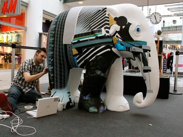 Interessados podem se inscrever até 30 de abril (Foto: Elephant Parade/Divulgação)